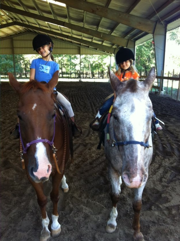 JR has taken care of many children as they learn the basics of horsemanship.