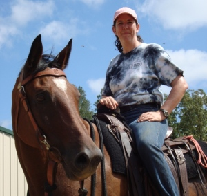 """Sylvan has become the mascot for Hillside Stables and because of everything that we have learned from him, we are now able to help many more horses with a wide range of """"problems."""""""